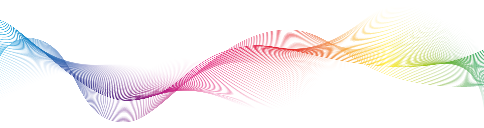 Floating wave graphic