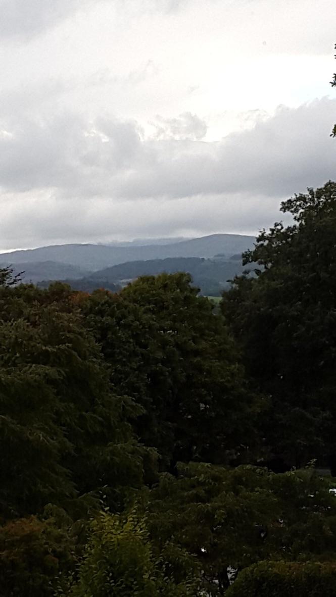 Kendal Castle Green Garden Storm