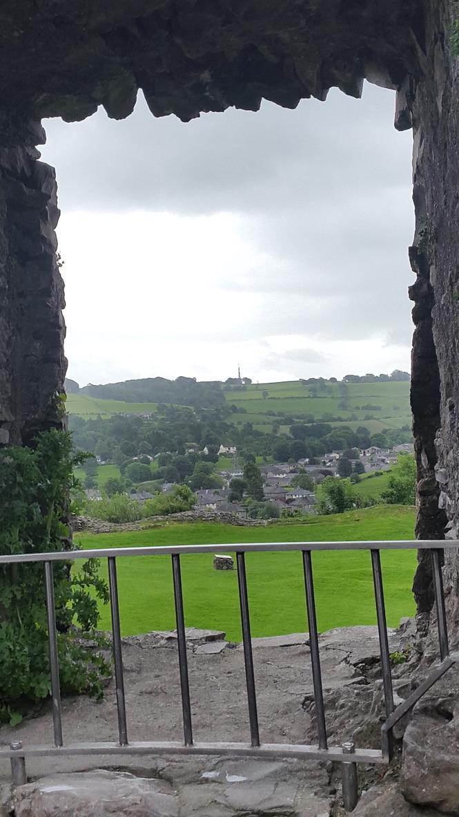 Kendal castle 5 through window Dropbox