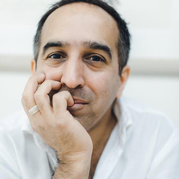 Sam Guglani profile photo for Kendal Poetry Festival 2021