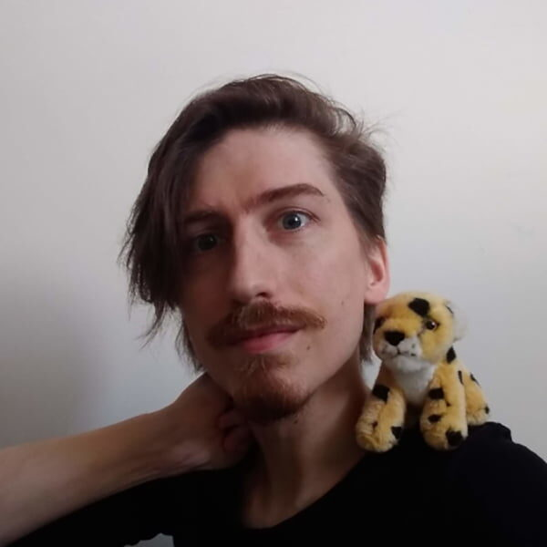 Jon Stone profile photo for Kendal Poetry Festival 2021